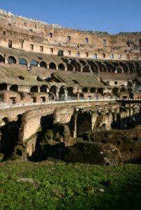 Ein Teil des gewaltigen Kolosseums. (Quelle: istockphoto)