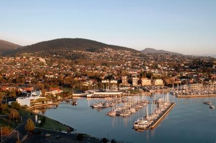 Die tasmanische Hauptstadt (Quelle: istockphoto)