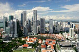 Singapurs Wolkenkratzer (Quelle: istockphoto)