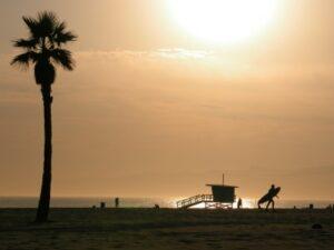 Venice Beach in der Dämmerung (Quelle: istockphoto)