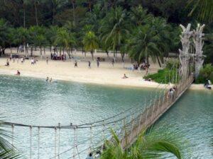 Palawan Beach auf Sentosa (Quelle: istockphoto)