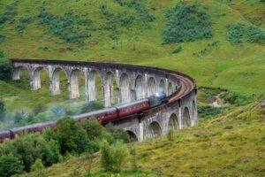 Der Glennfinnan-Viadukt in Schottland (Quelle: Fotolia)