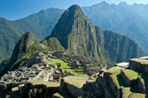 Die legendäre Ruinen-Stadt Macchu Picchu (Quelle: istockphoto)