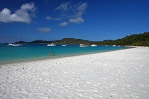 Der Whitehaven Beach