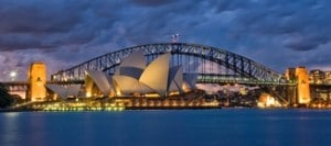 Die Wahrzeichen Sydneys (Quelle: Fotolia)