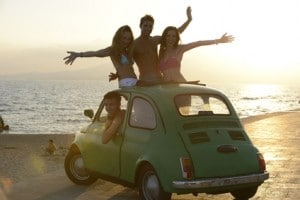 Sommerurlaub mit Freunden